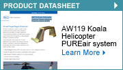 AW119 Koala Helicopter Centrisep® Engine Advanced Protection System (EAPS)