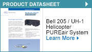 Bell 205 / UH-1 Helicopter Centrisep® Engine Advanced Protection System (EAPS)