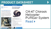 CH-47 Chinook Helicopter Centrisep® Engine Advanced Protection System (EAPS)