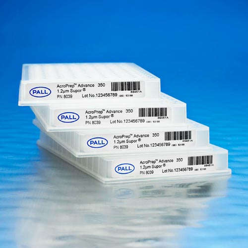AcroPrep™ Advance 96-Well Filter Plates With Mustang Q/S Ion Exchange Membrane product photo Primary L