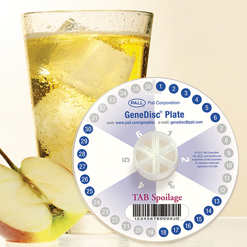 GeneDisc plate Spoilage TAB product photo