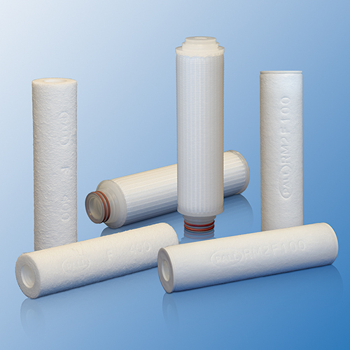 Profile® II Filter Cartridges, 0.5 µm, 40 in, Single Open Ended Code 7, Silicone Elastomer O-ring product photo
